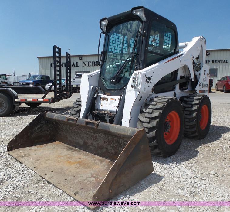 2013 Bobcat S650 Skid Steer Item K8375 Sold July 28