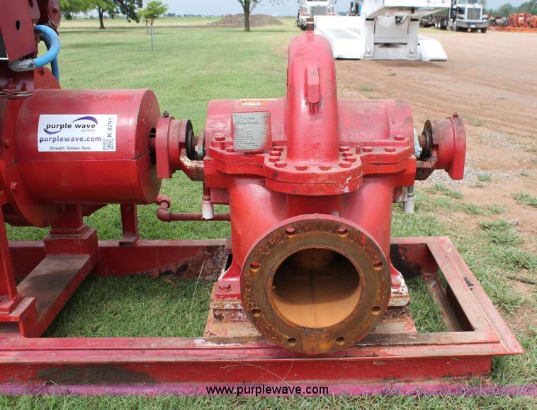ITT 8100 A-C centrifugal pump | Item K8791 | SOLD! July 28 C