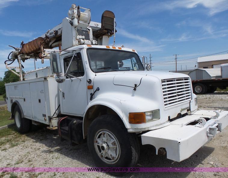1992 international 4900 bucket truck item l6160 sold ju rh purplewave com 1991 International 4900 1992 International 5070