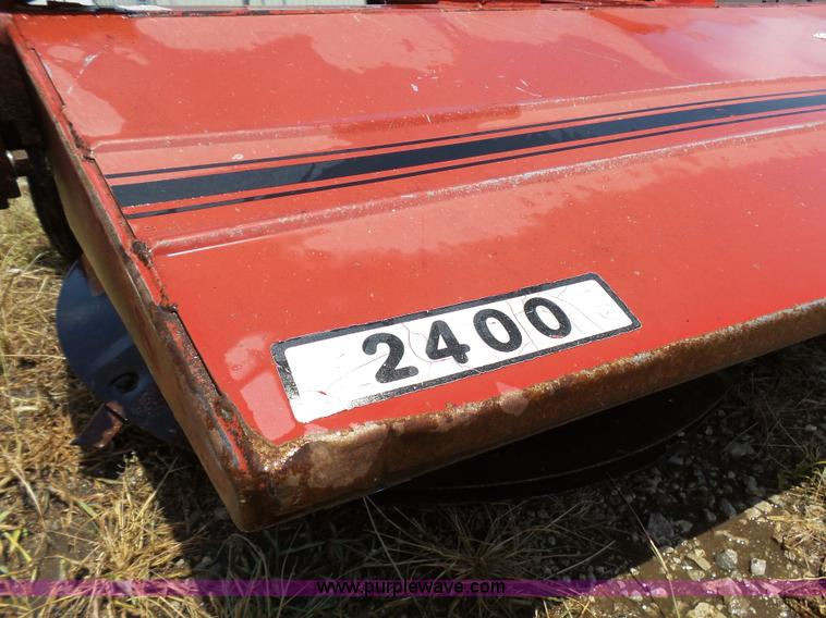 Reese 2400 drum mower | Item K5445 | SOLD! August 2 Governme