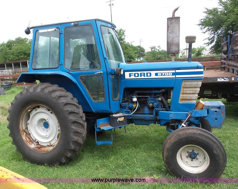 6700 Ford Tractor : Ford tractor item ag sold august vehicles