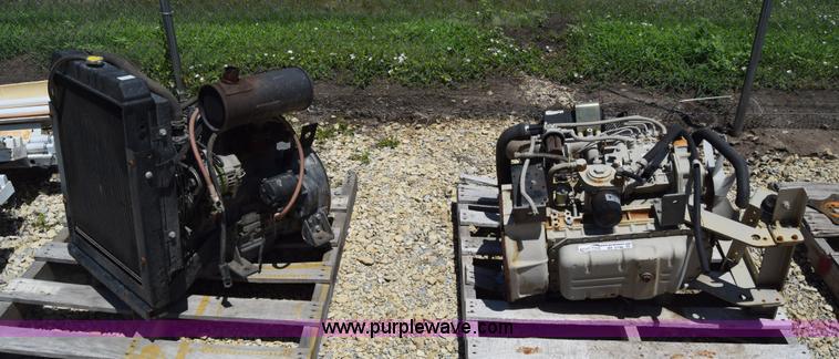 2) Yanmar four cylinder diesel engines | Item BF9796 | SOLD