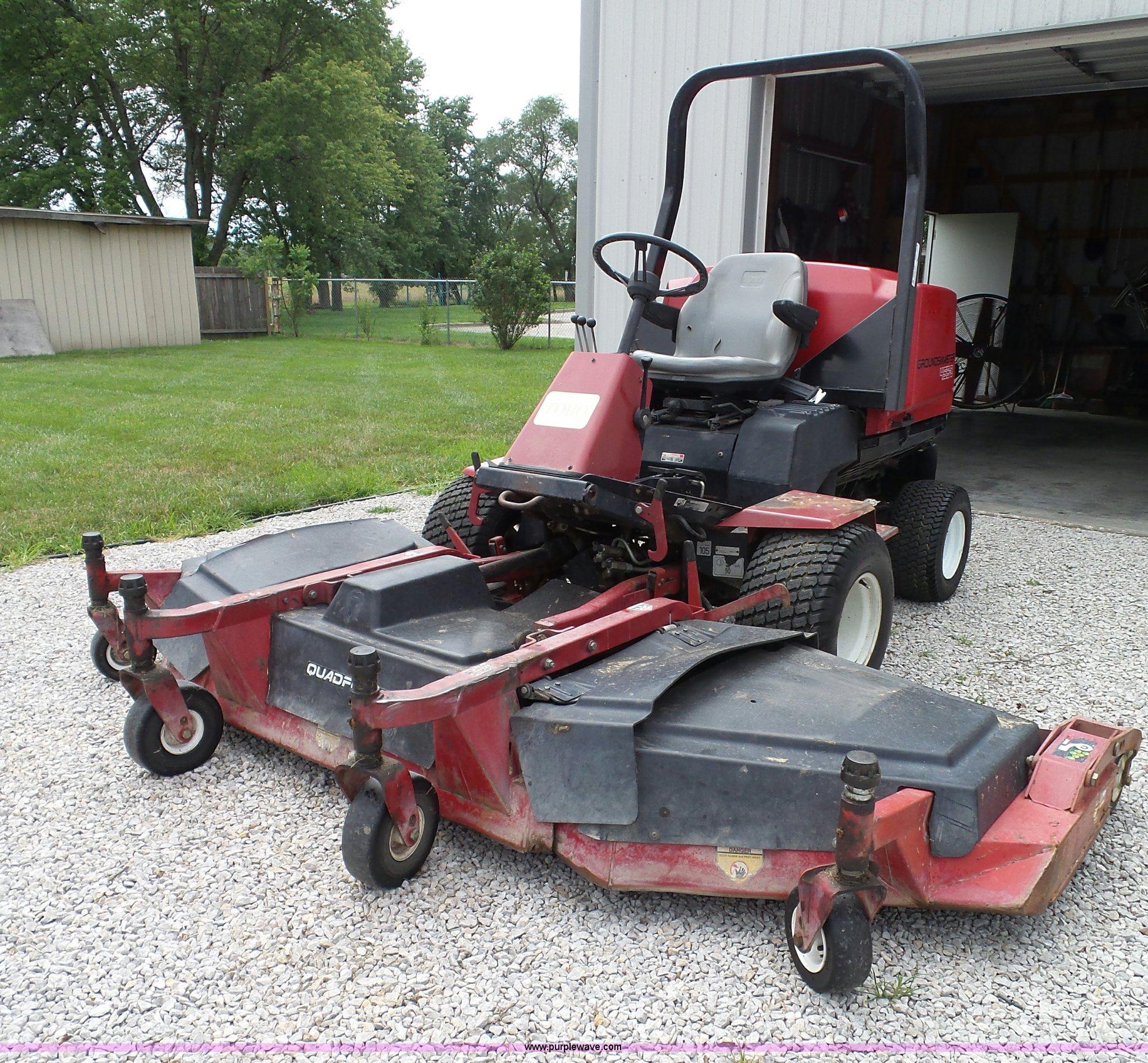 2003 Toro Groundsmaster 455D lawn mower | Item BG9390 | SOLD