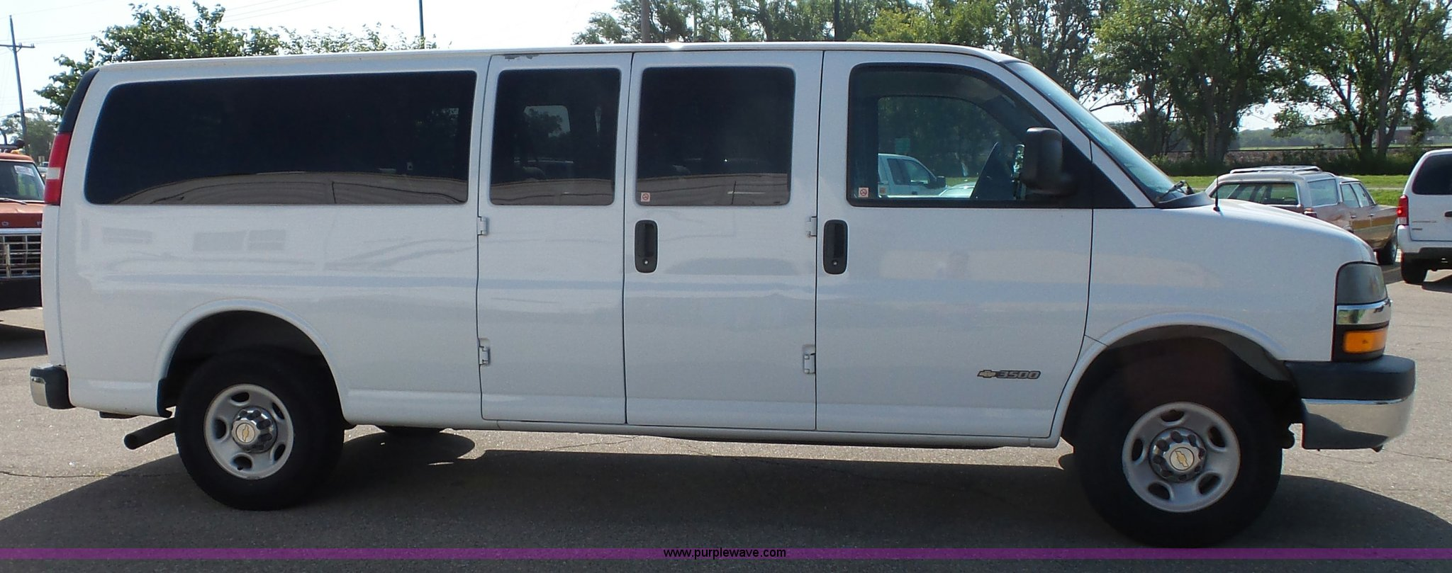 All Chevy 2005 chevrolet express : 2005 Chevrolet Express 3500 Extended van | Item J4843 | SOLD...