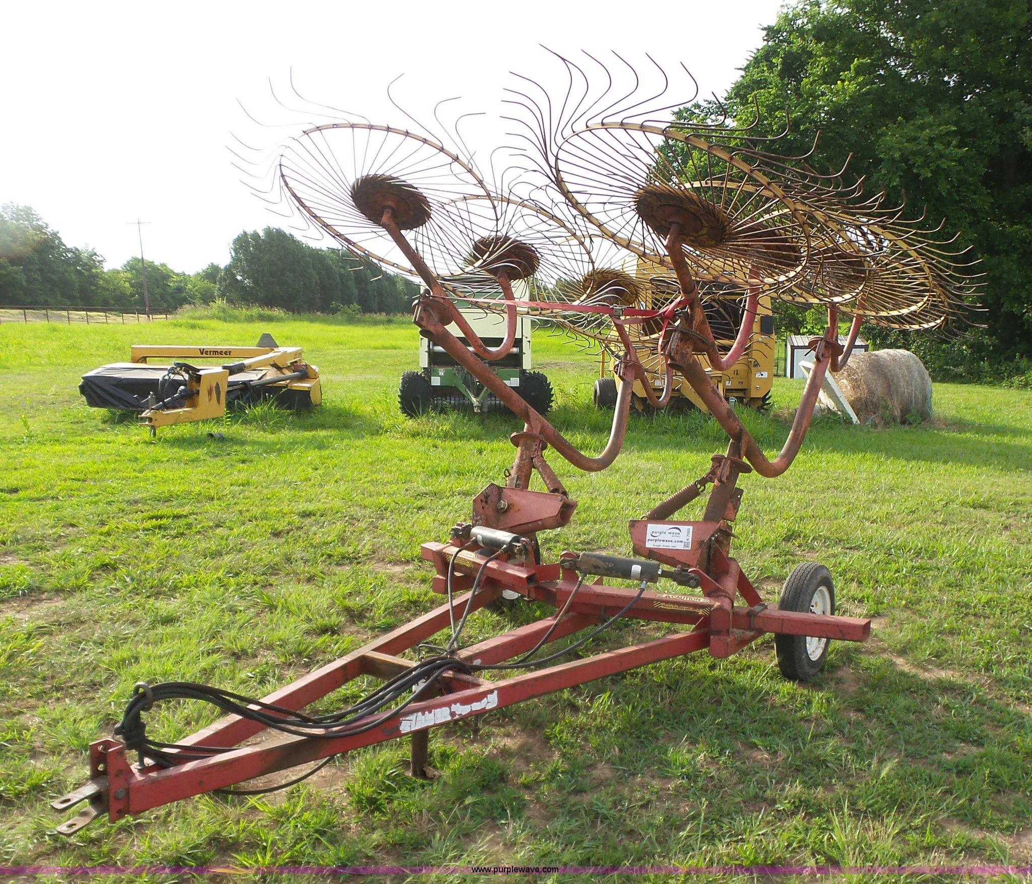 K7093 image for item K7093 Walton HR4 hay rake