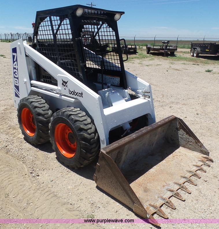 1991 Bobcat 743b Skid Steer Item By9532 Sold August 11