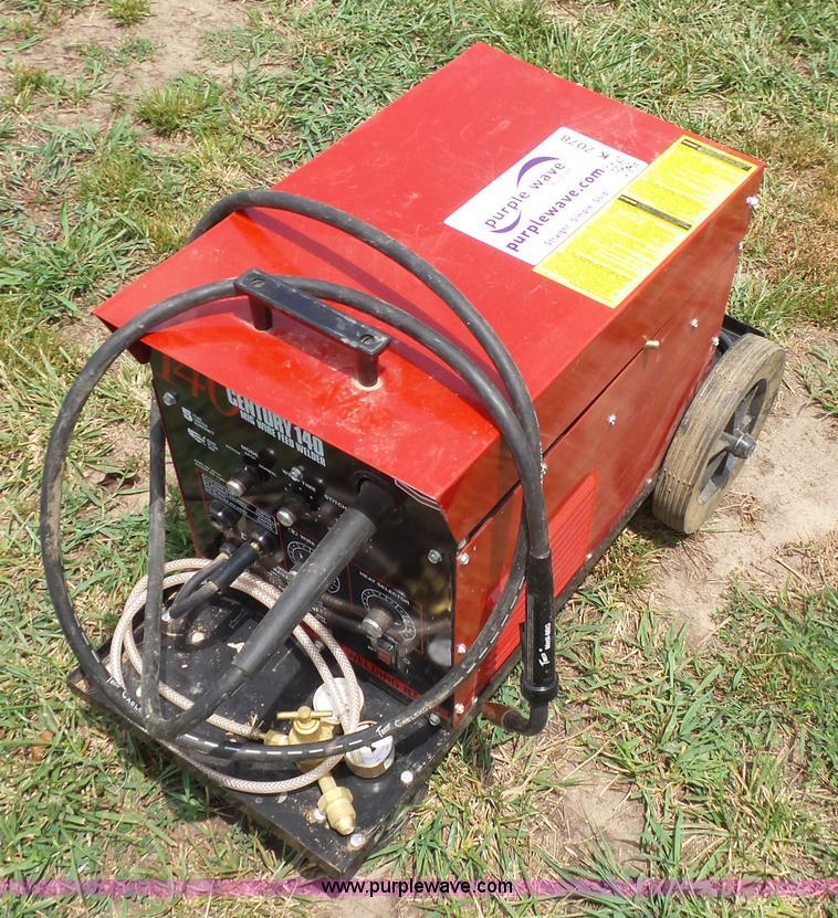 Century 140 MIG wire feed welder | Item K7078 | SOLD! August...