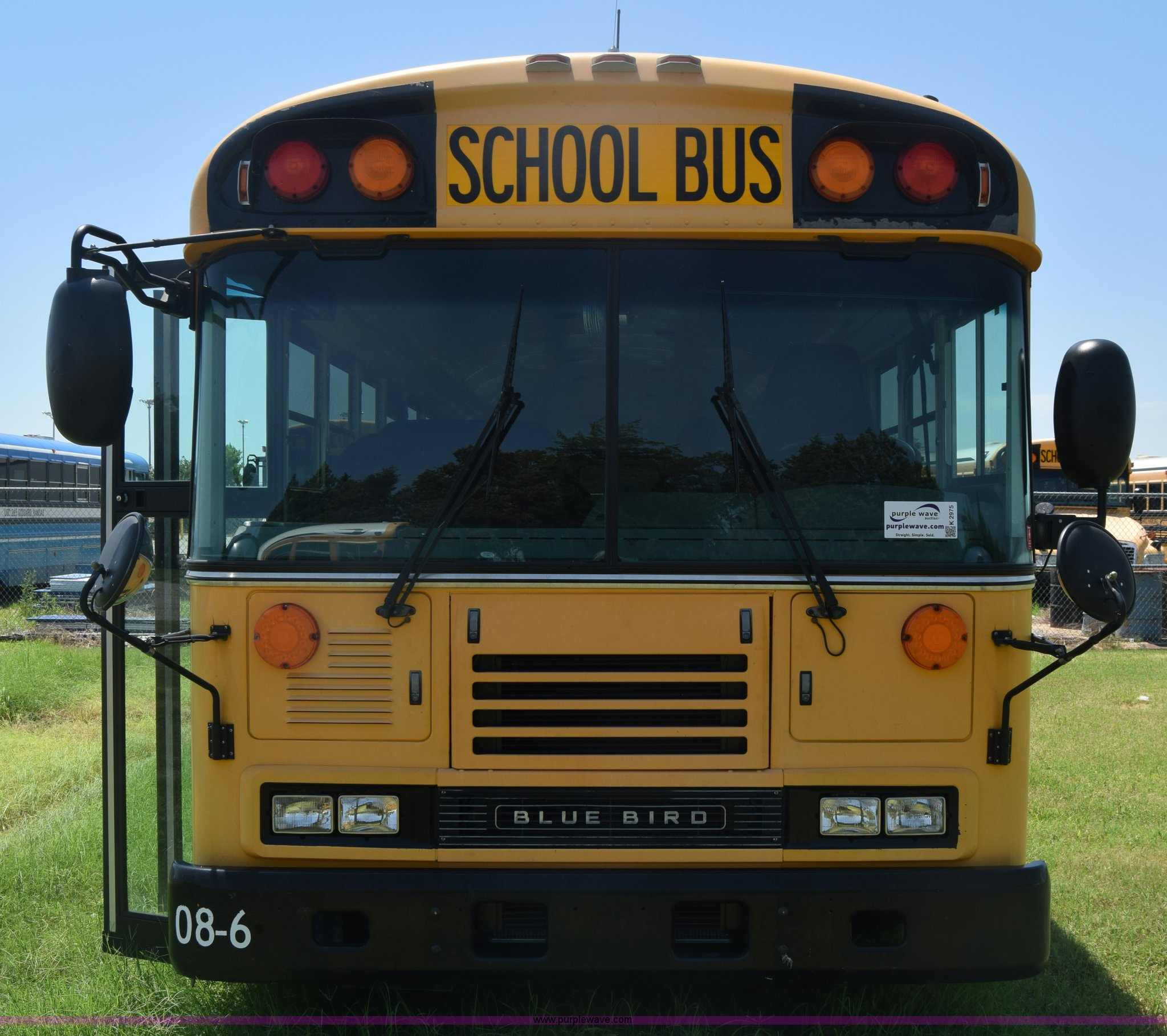 2009 Blue Bird School Bus Item K2975 Sold August 17 Veh