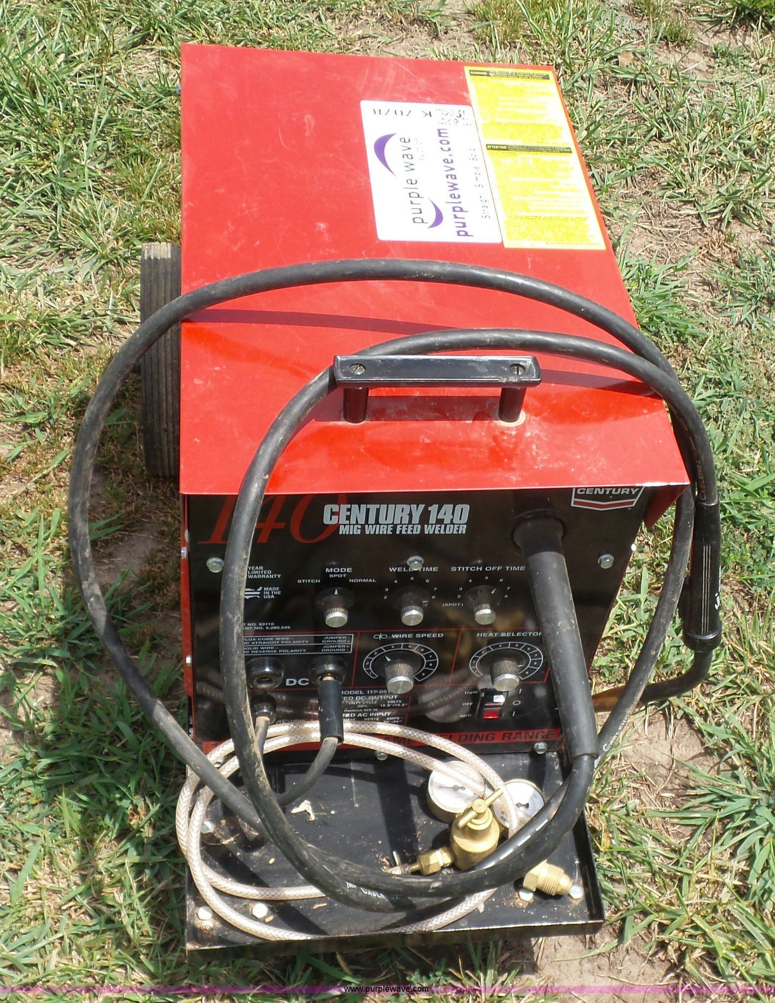 Century Powermate 70 Welder Manual