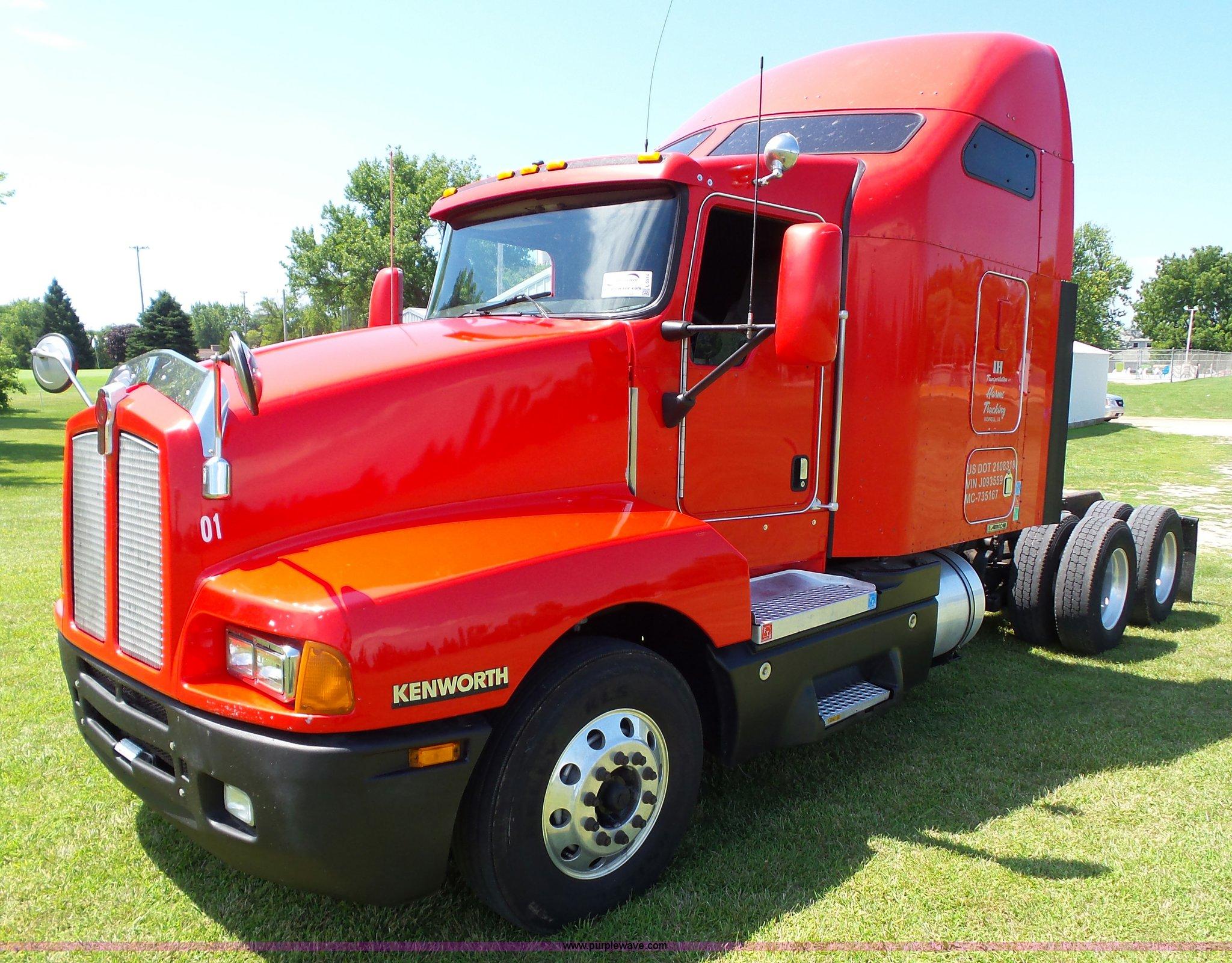 Semi Truck Mud Flaps >> 2007 Kenworth T600 semi truck | Item L5514 | SOLD! August 18...