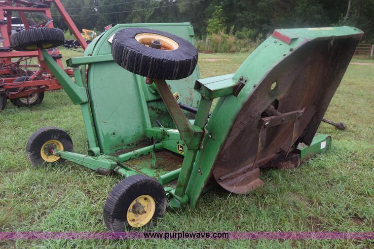 John Deere 1508 batwing rotary mower | Item K2873 | SOLD! Au