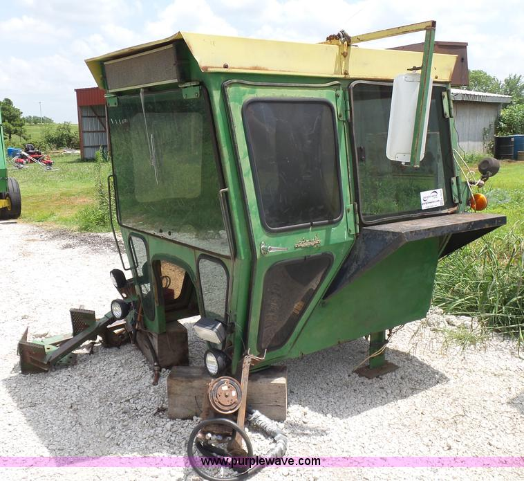 John Deere 4020 tractor cab | Item K7074 | SOLD! August 24 A