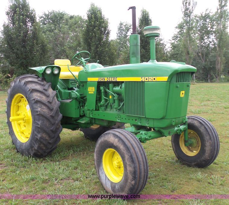 4020 John Deere Seat Assembly : John deere tractor item k sold august ag