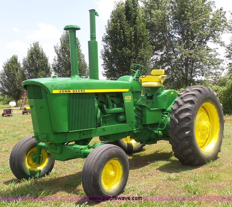 John Deere 4520 Tractor Item K7081 SOLD August 24 Ag Eq