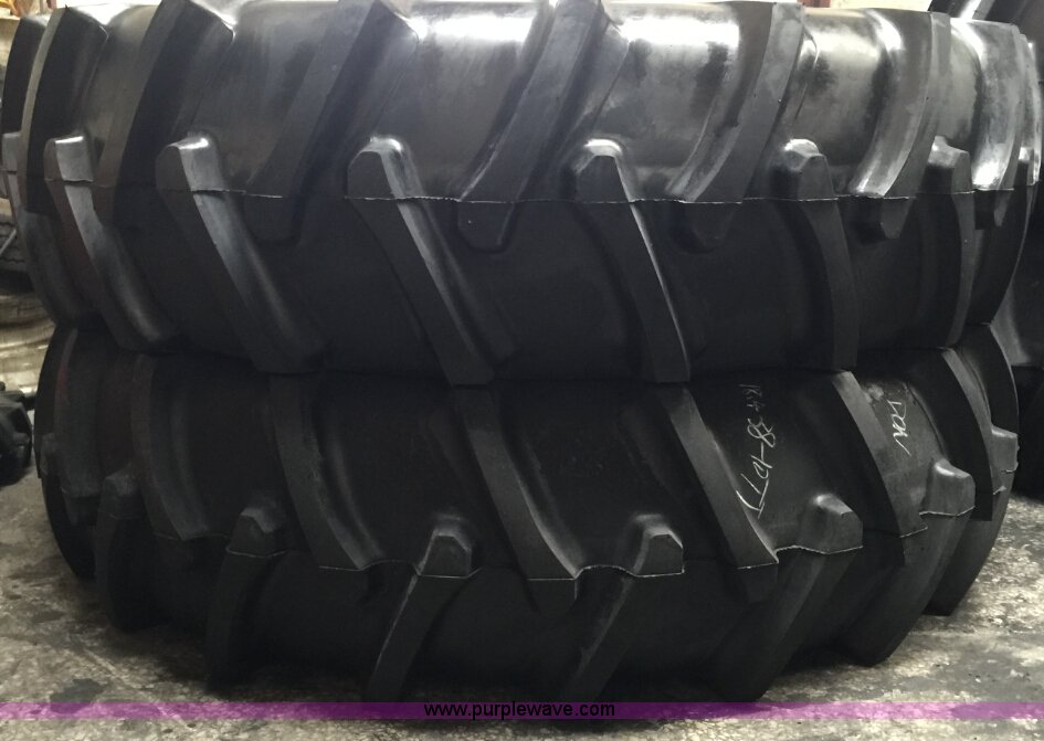 2 18 4 38 Tractor Tires Item F1612 Sold August 24 Ag