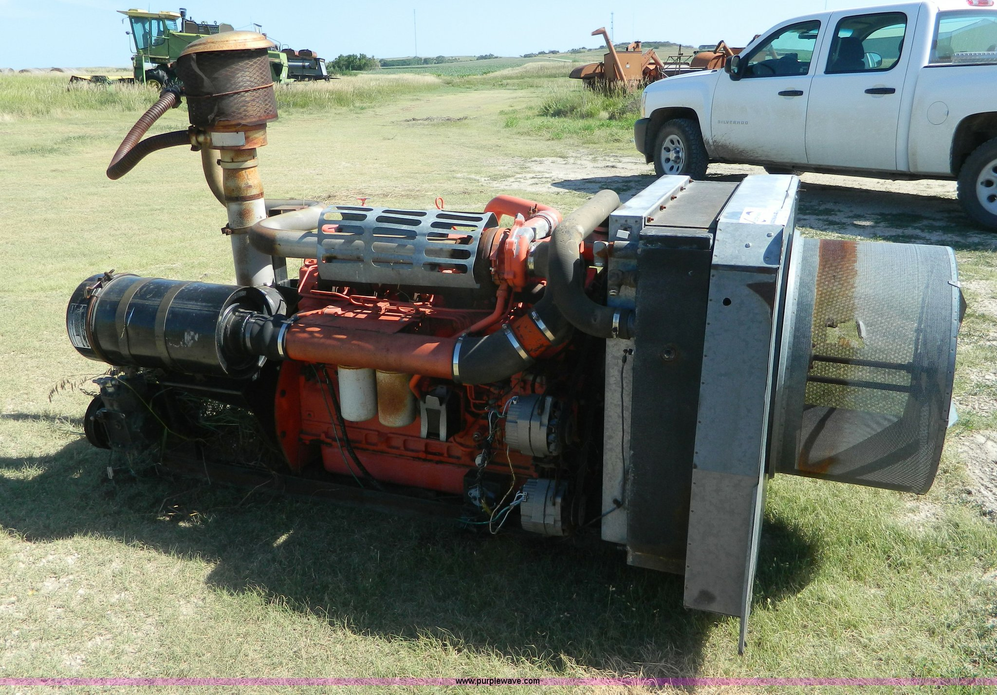 J8850 Image For Item J8850 Allis Chalmers 3500 Six Cylindersel Engine