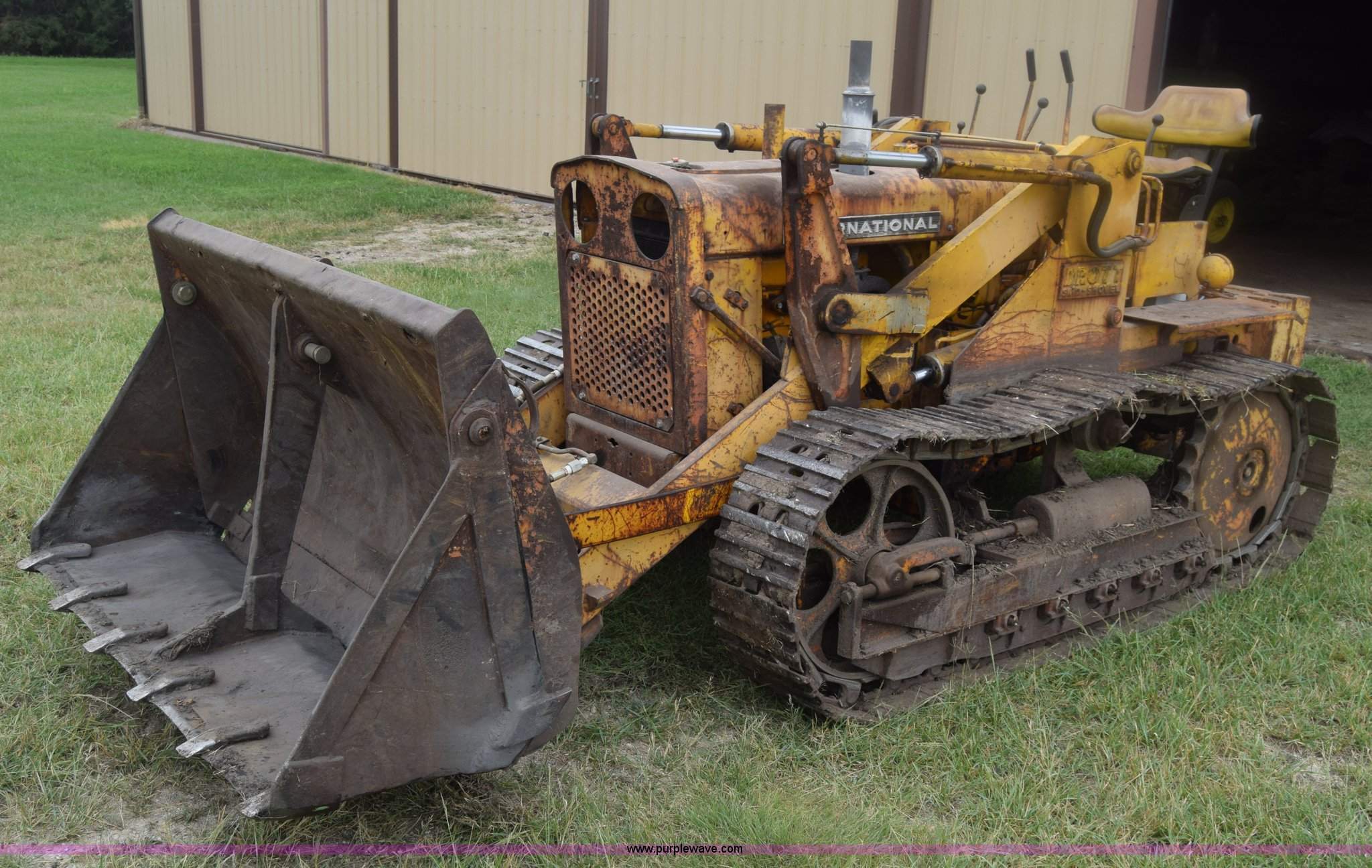 1963 International T340A Drott track loader | Item K2861 | S