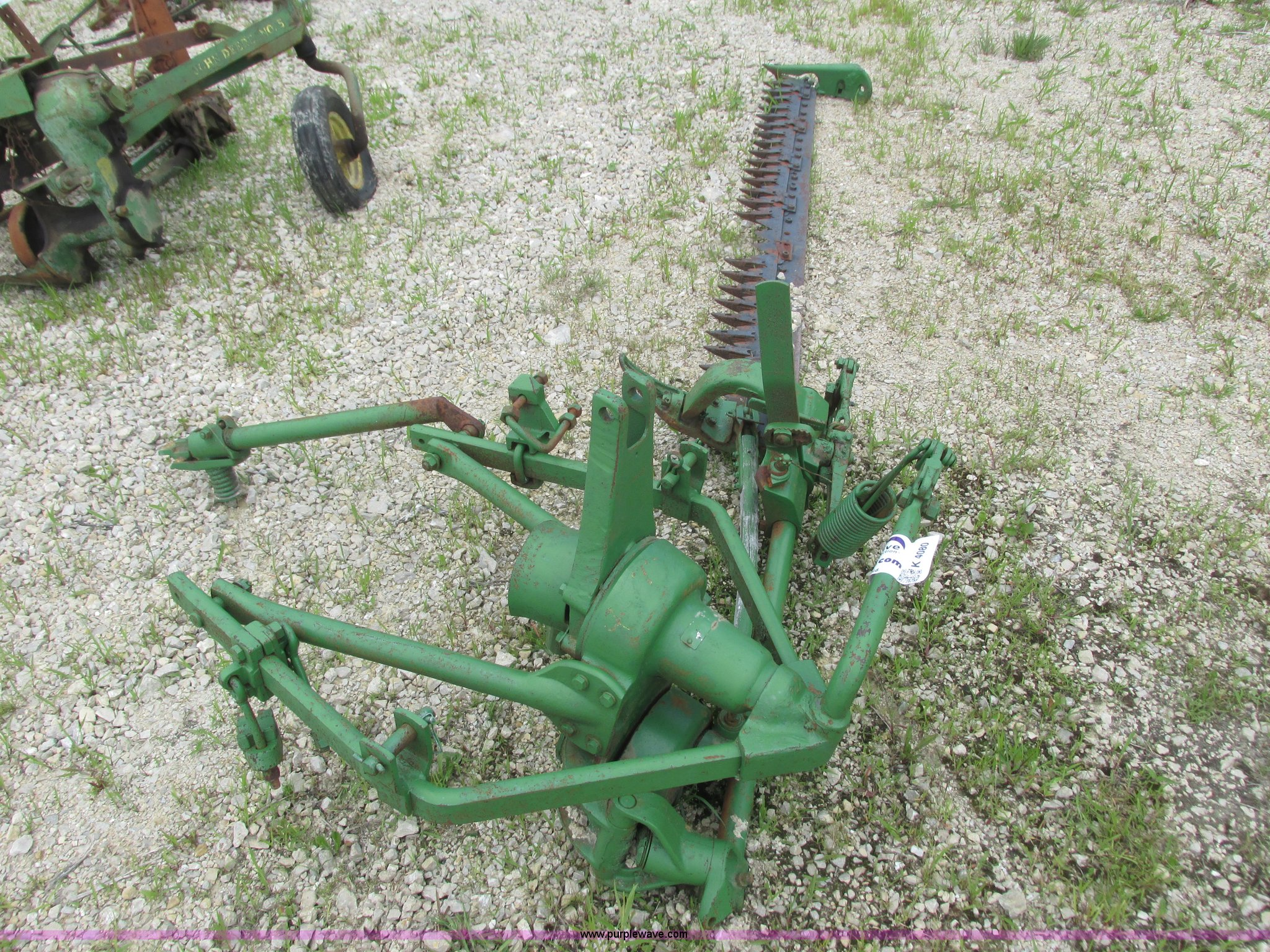 John Deere 9 Sickle Mower In Plainview Mn Item K4080 Sold Purple Wave