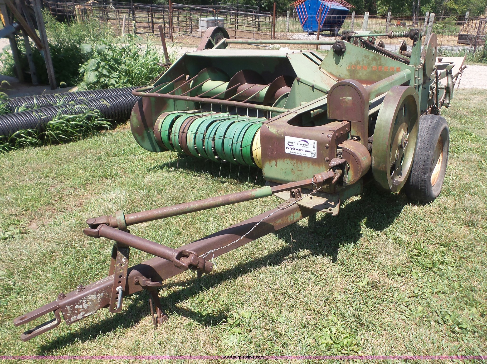 L4936 image for item L4936 John Deere 14T ...