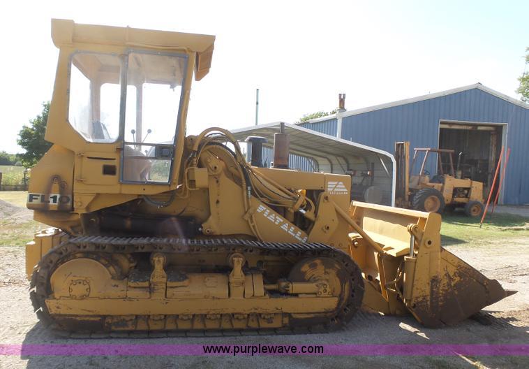 fiat allis fl10 track loader in coffeyville ks item br9103 sold purple wave fiat allis fl10 track loader in