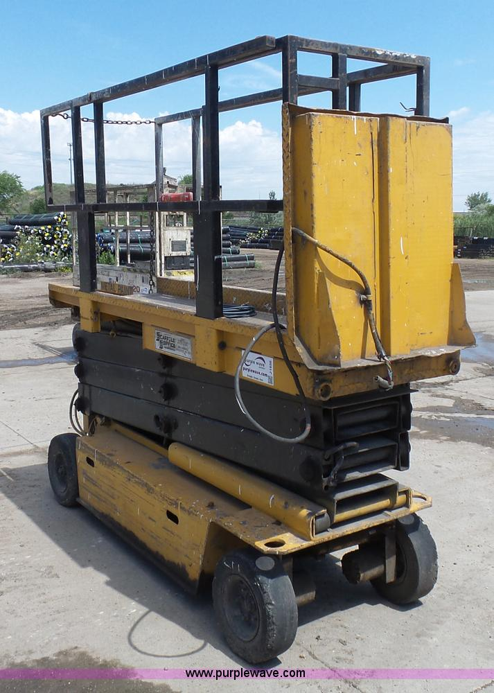 J1656 grove sm2633 scissor lift item j1656 sold! august 25 con