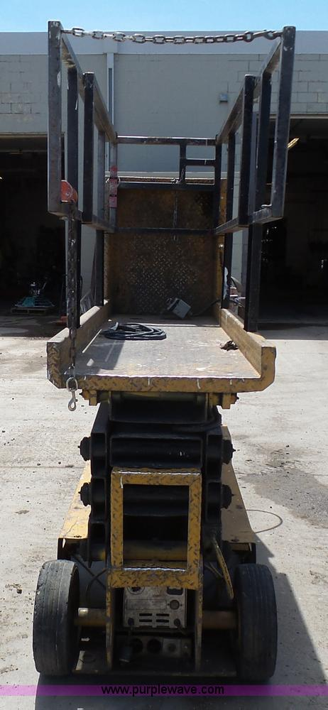 J1656C grove sm2633 scissor lift item j1656 sold! august 25 con