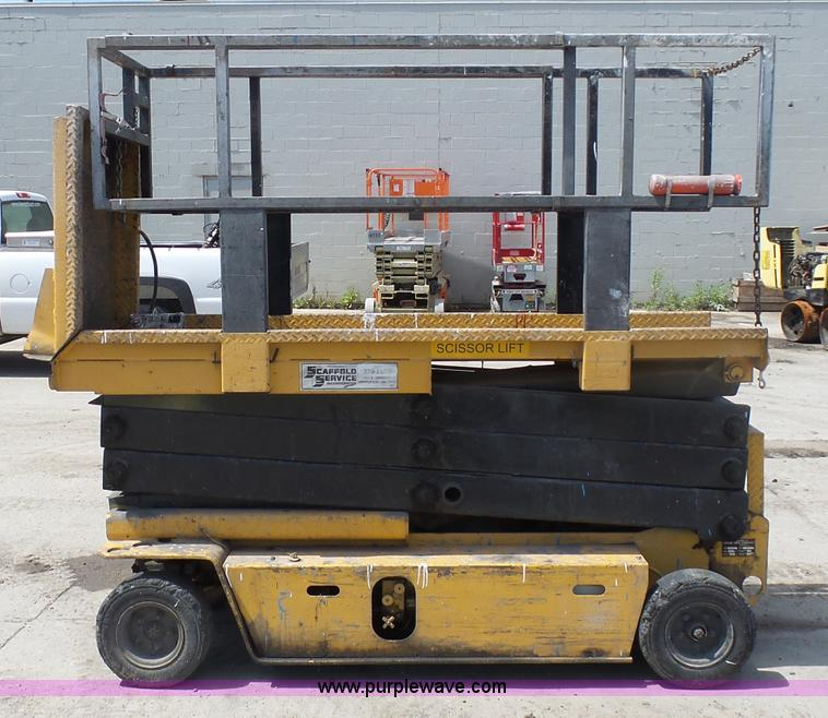J1656E grove sm2633 scissor lift item j1656 sold! august 25 con