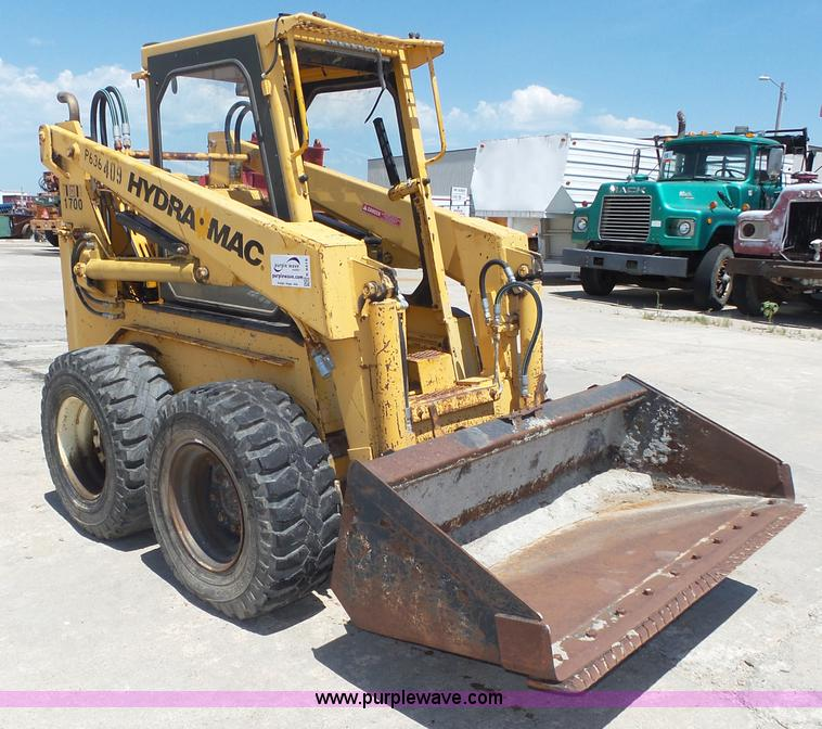 Hydra Mac 1700 Skid Steer Item K8419 Sold August 25