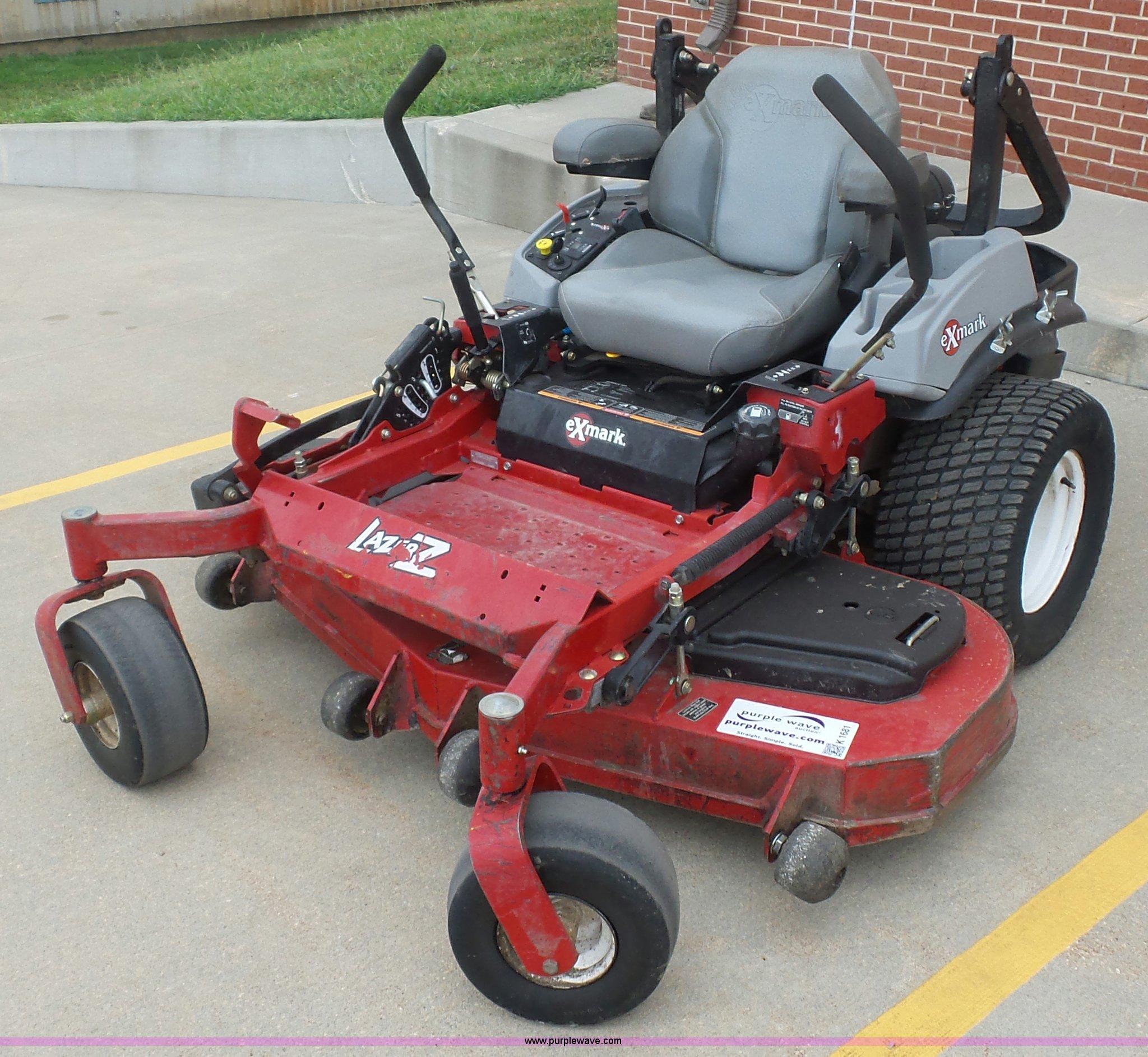 Exmark X Series Lazer Z ZTR lawn mower | Item K1681 | SOLD!