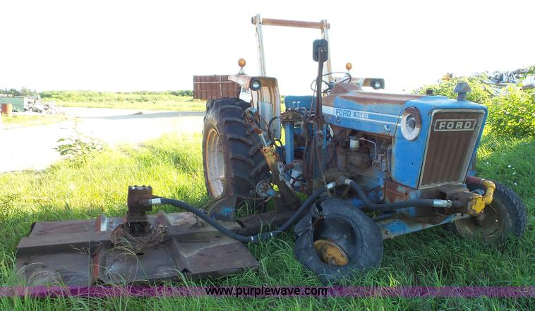 3a65d1425fd0 Ford 5600 tractor with side mower ...