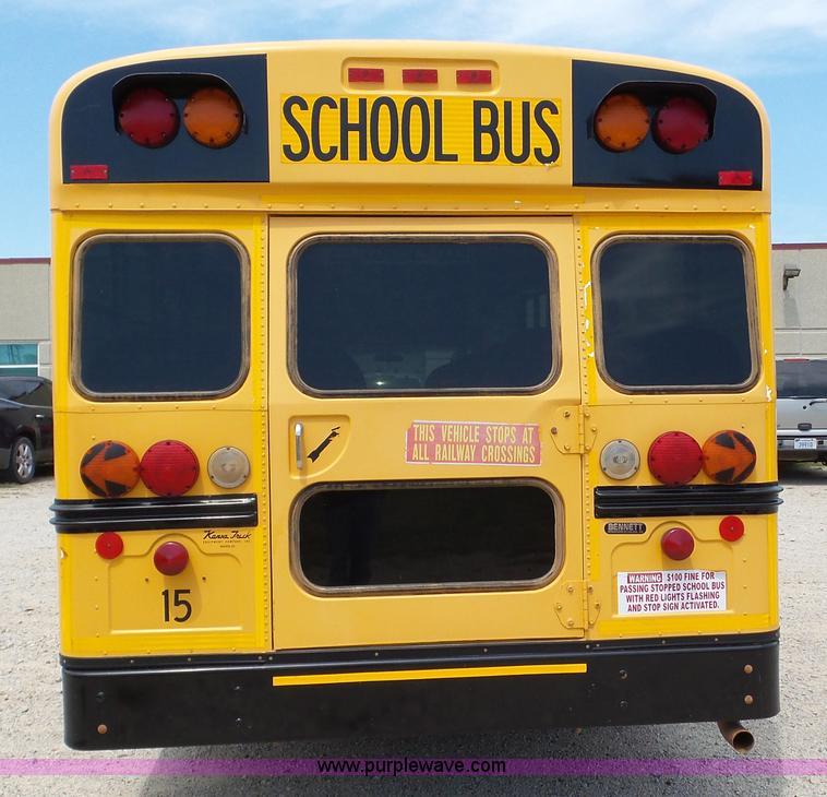2009 Chevrolet Express 3500 Cargo School Bus