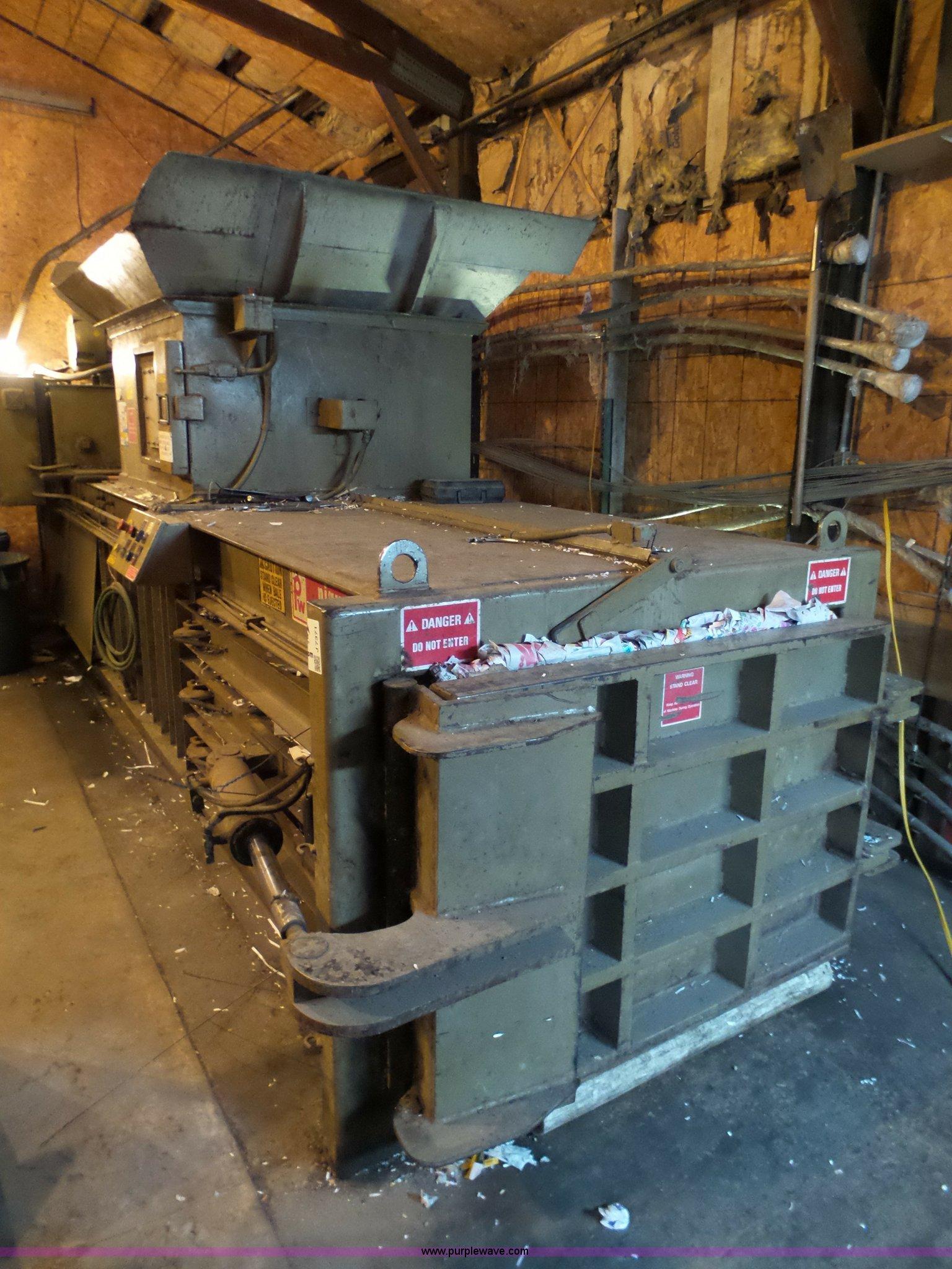 Piqua waste baler | Item J7371 | SOLD! September 13 Governme