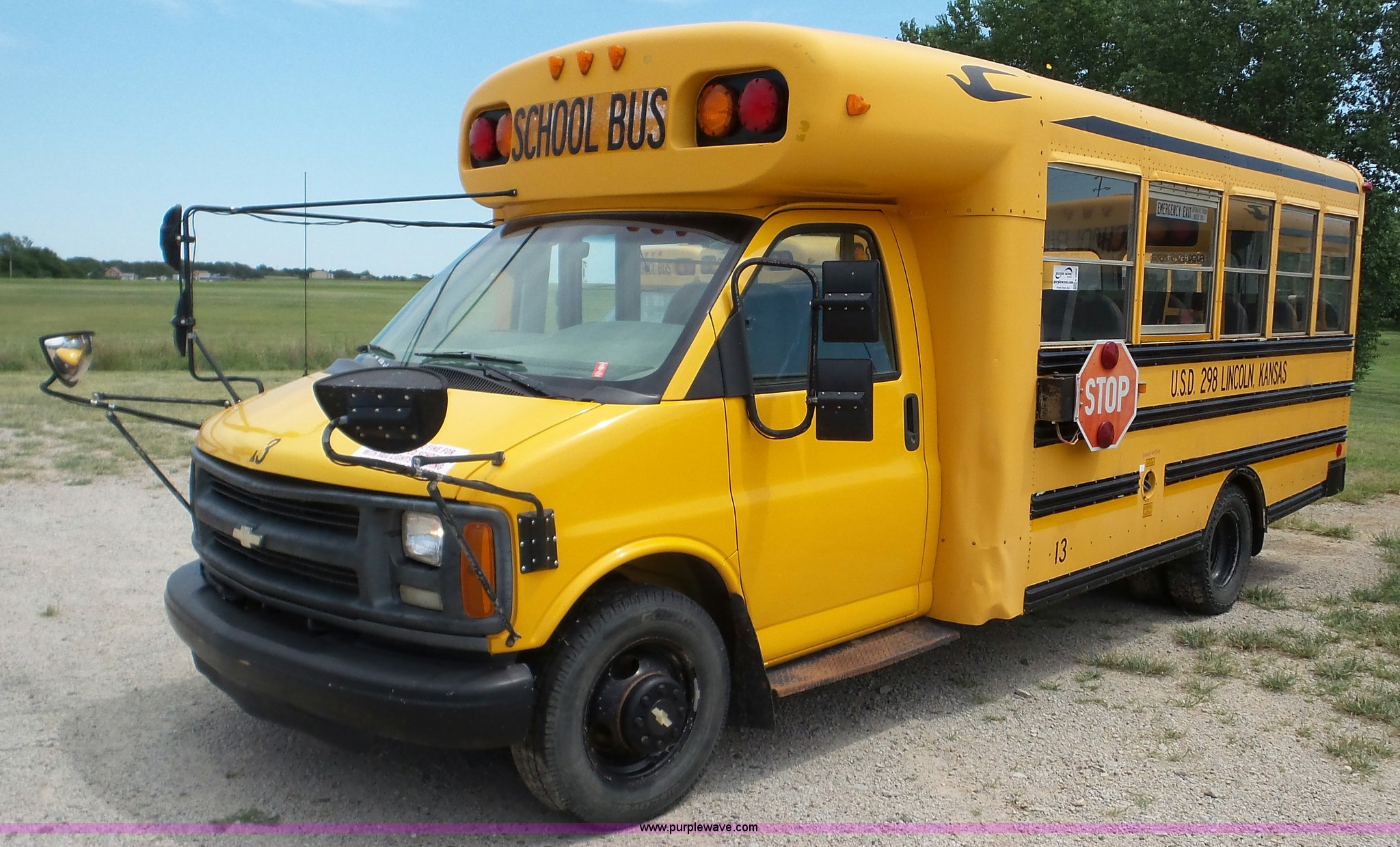 e782cf4508 2000 Chevrolet Express G3500 school bus for sale in Kansas