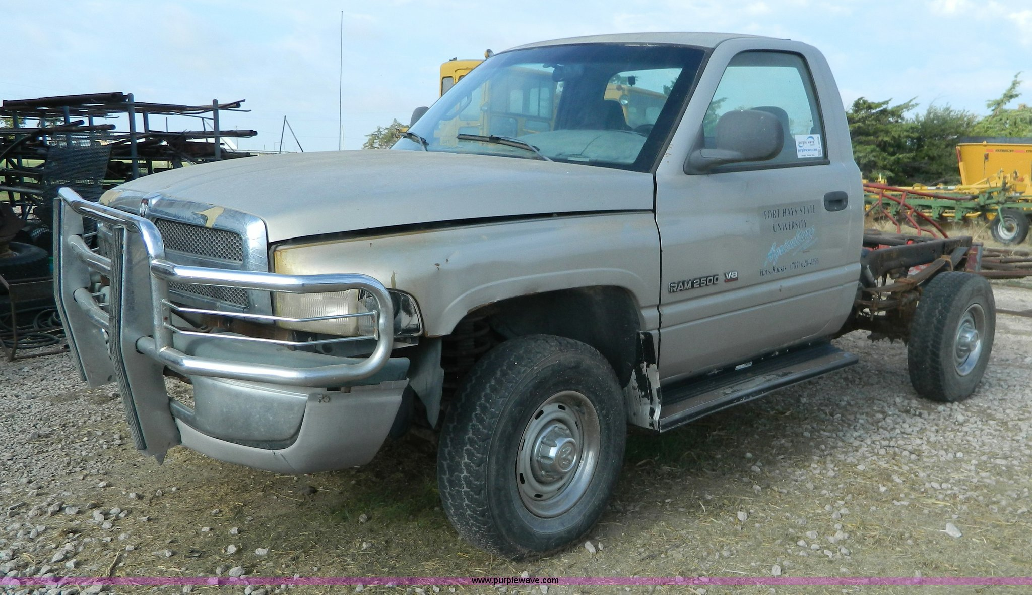 1999 dodge ram 2500 pickup truck cab and chassis item l203 1999 Dodge Ram Interior Color 1999 dodge ram 2500 pickup truck cab and chassis for sale in kansas