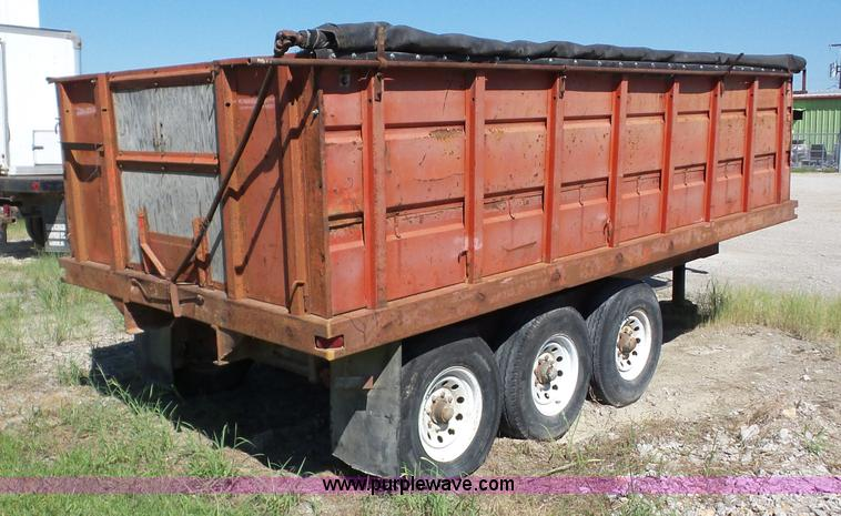 bz9695 image for item bz9695 dump bed grain trailer - The Dump Mattress Sale