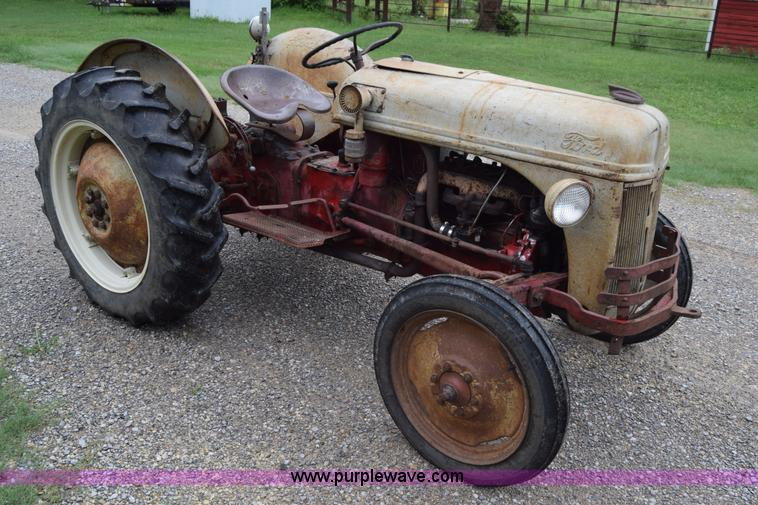 1950 Ford Tractor Tractor Vermilion : Ford n tractor item ca sold september ag