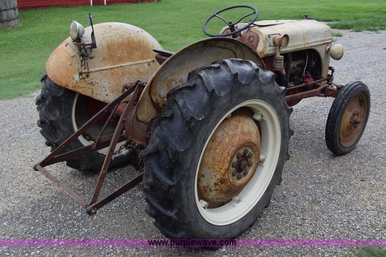 1950 ford 8n tractor item ca9806 sold september 14 ag for 8n ford tractor motor for sale