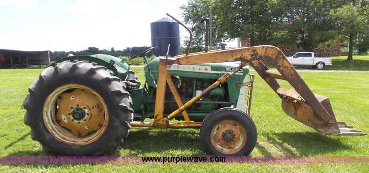 550 Oliver Tractor With Loader : Oliver tractor item cc sold september