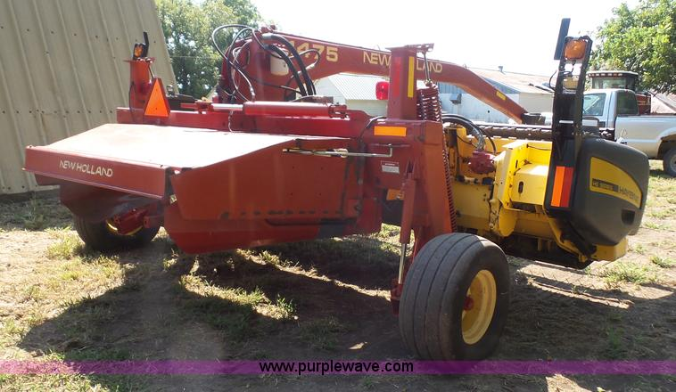2002 New Holland 1475 HS haybine windrower | Item K3638 | SO