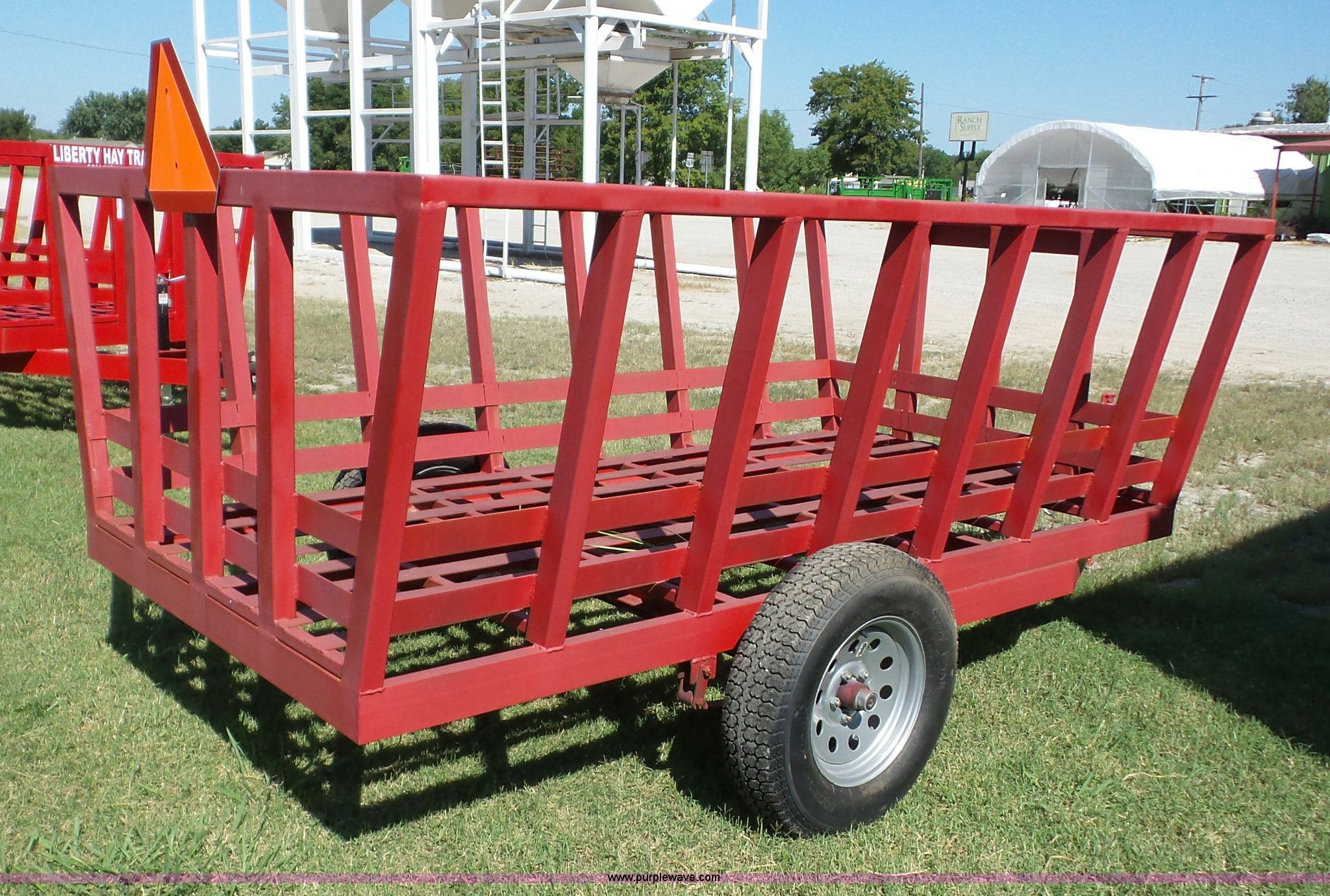 size hay liberty feeder sep auction in item sold wagon bale window new full