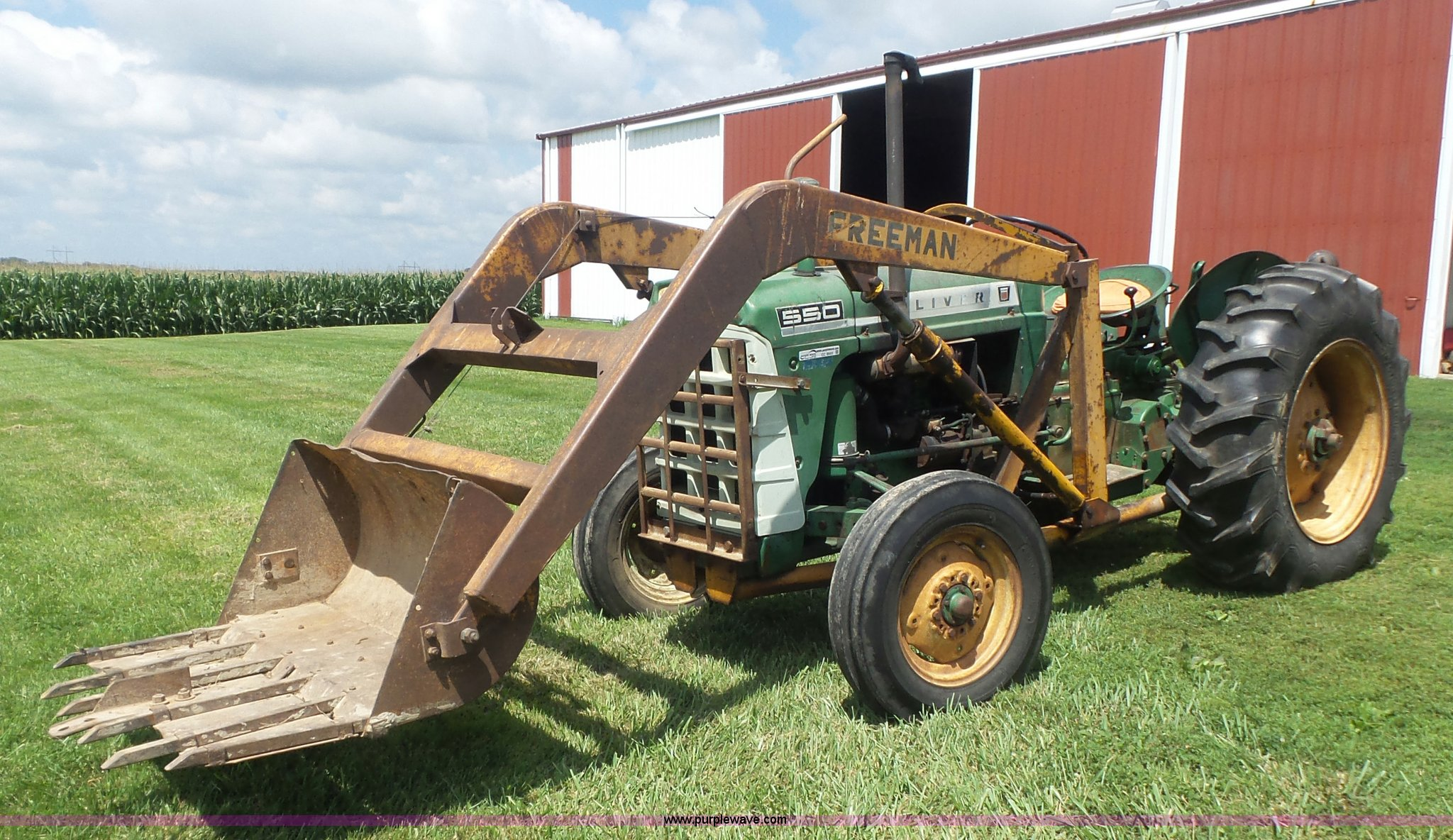long 550 tractor manual