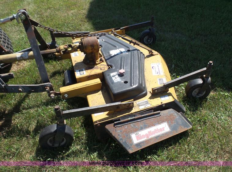 King Kutter Fm60y Finish Mower Item K3739 9 14 2016