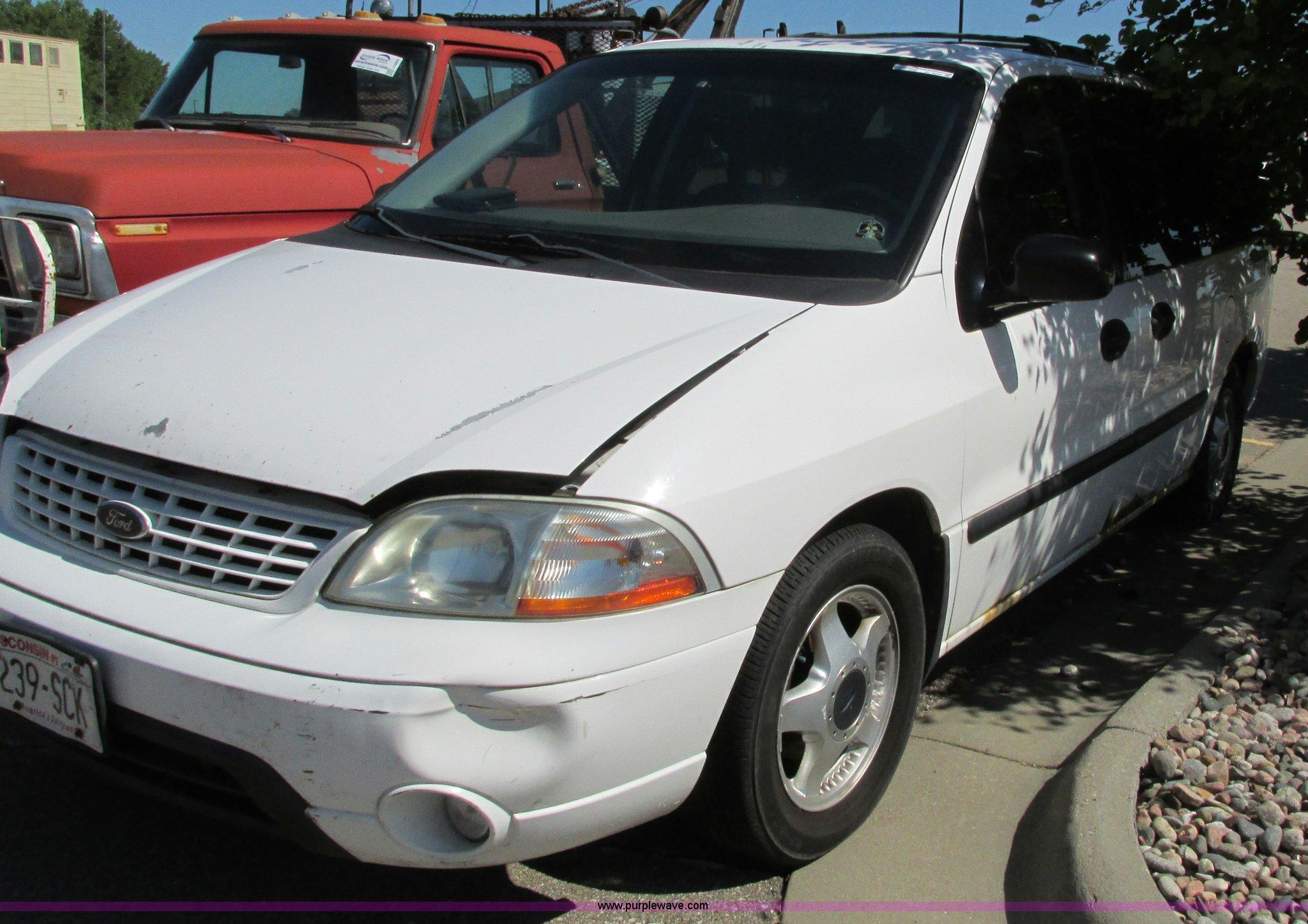 2003 Ford Windstar Lx Van Item Aj9235 Sold September 14 Full Size In New Window