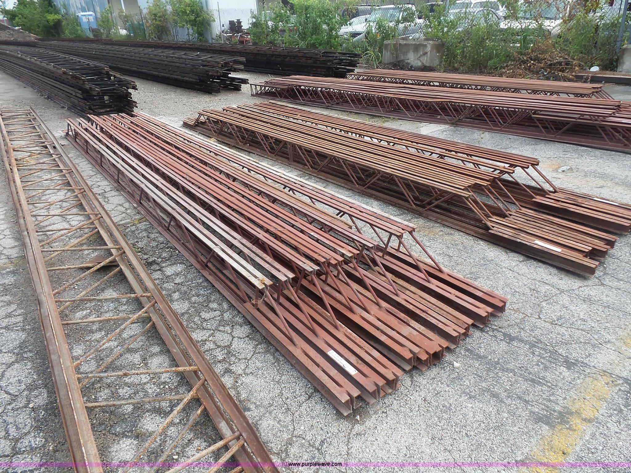 10 Steel Bar Joists Item Bs9816 Sold September 14