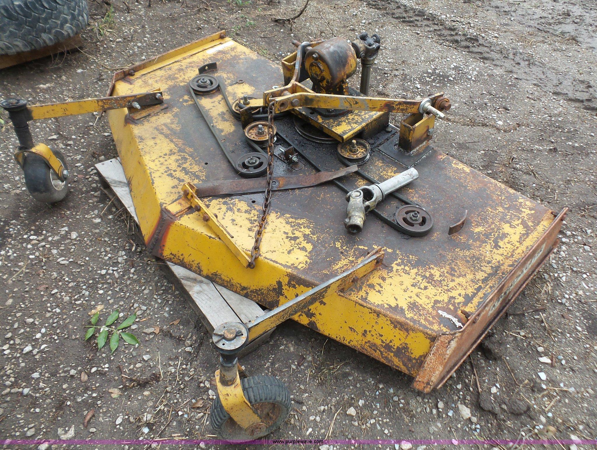 King Kutter Finish Mower Parts Diagram