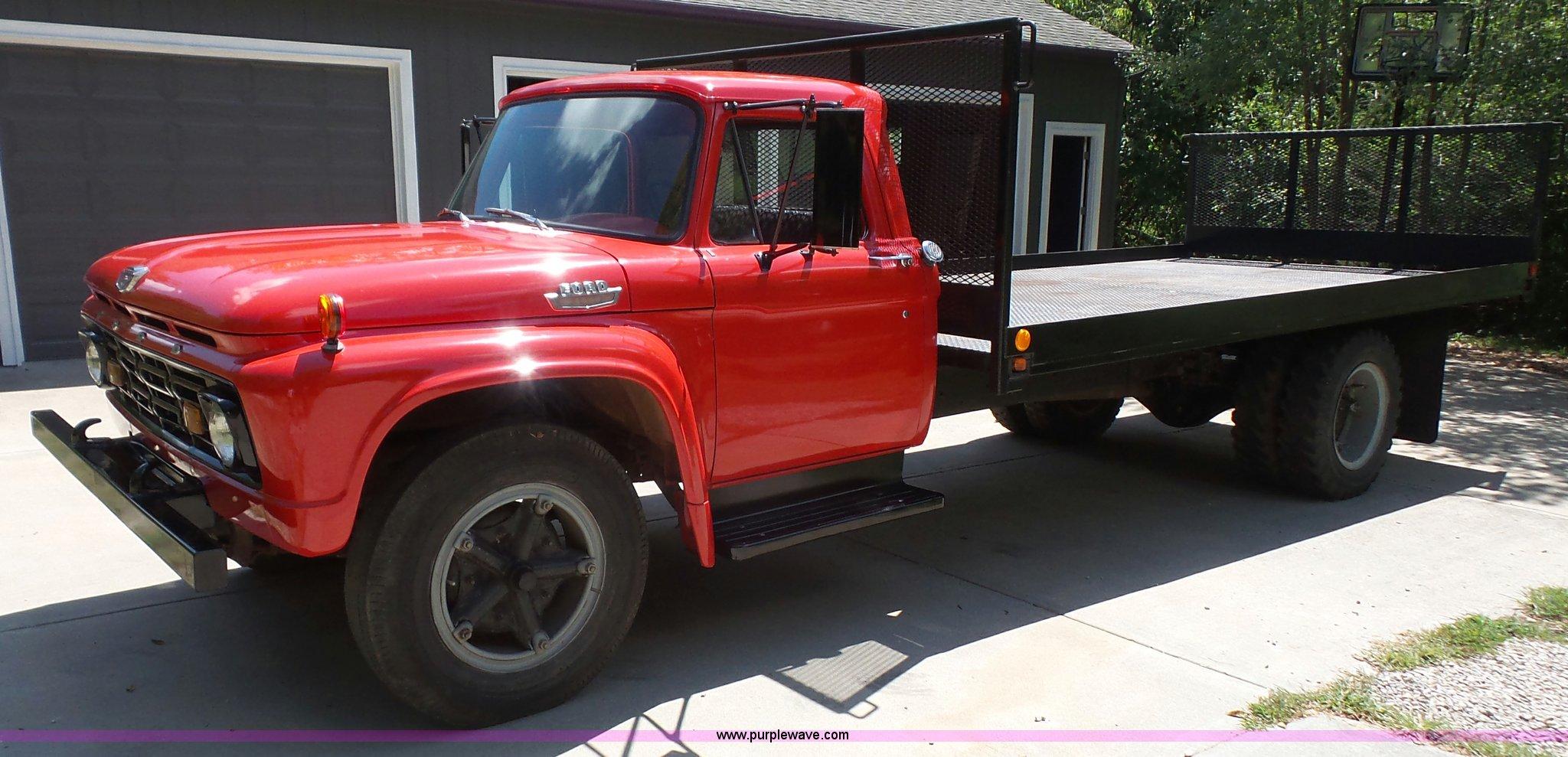 1964 Ford 700 Flatbed Truck Item K3737 Sold September 1 Pickup Image For