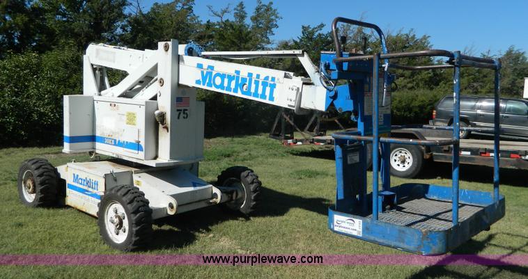 mark lift 30kb boom lift item j5123 sold september 15 c rh purplewave com marklift wiring diagram Marklift Manuals