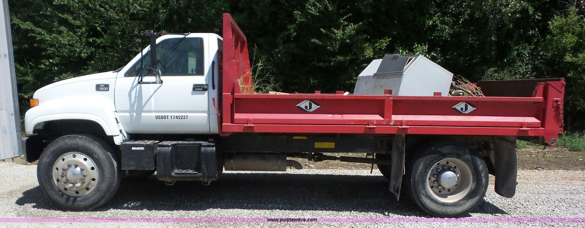 Pickup chevy c7500 pickup : 1999 Chevrolet C7500 dump truck   Item BZ9664   SOLD! Septem...