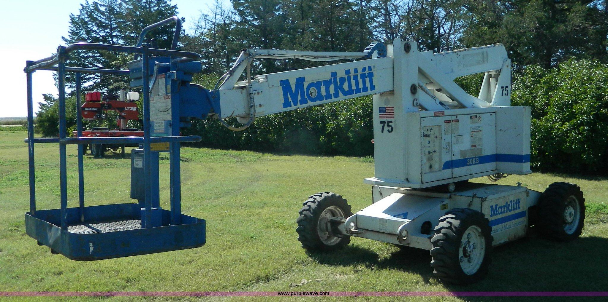 Mark Lift 30kb Boom Item J5123 Sold September 15 C Marklift Wiring Diagrams Full Size In New Window