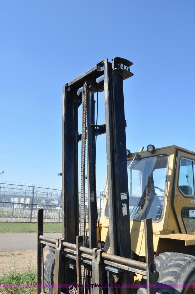 Caterpillar R80 forklift | Item G7467 | SOLD! September 20 S